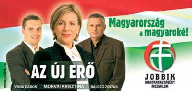 Neo-fascist Jobbik election campaign advertisement